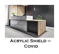 Acrylic Shield – Covid